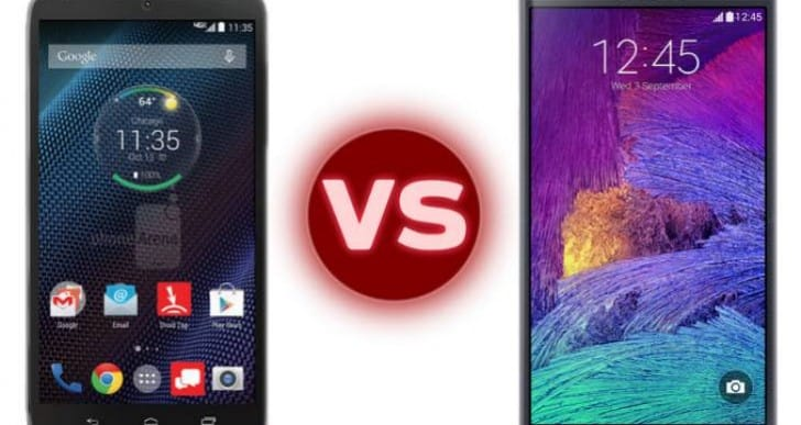 Droid Turbo vs. Galaxy Note 4 specs desired for India