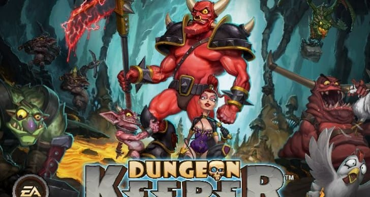 Dungeon Keeper app slammed by creator