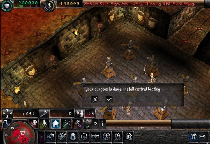 Dungeon-Keeper-Gameplay
