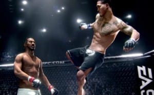 EA SPORTS UFC roster with PS4 pre-order price