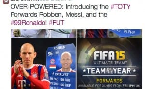 FIFA 15 FUT Store not working after TOTY forwards