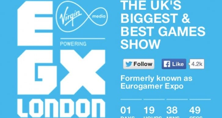 EGX 2014 countdown to games event date