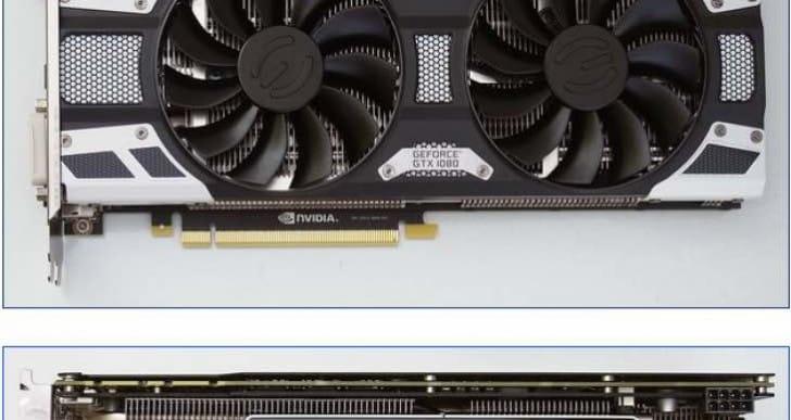 EVGA GeForce GTX 1080 review running Fire Strike results