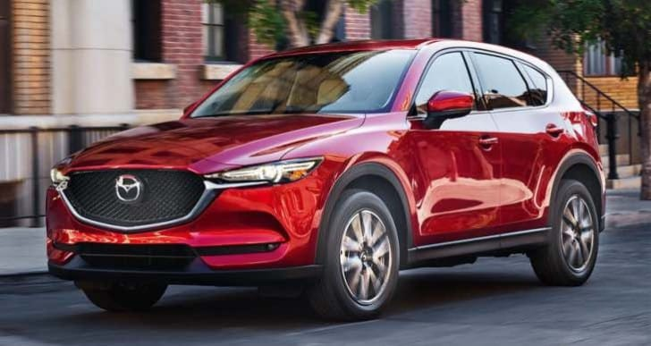 Eagerness to review 2017 Mazda CX-5 changes