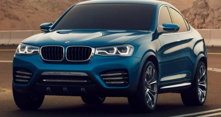 Early 2015 BMW X4 review and tentative price