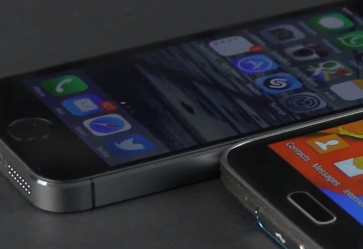 Early Galaxy S5 vs. iPhone 5S review