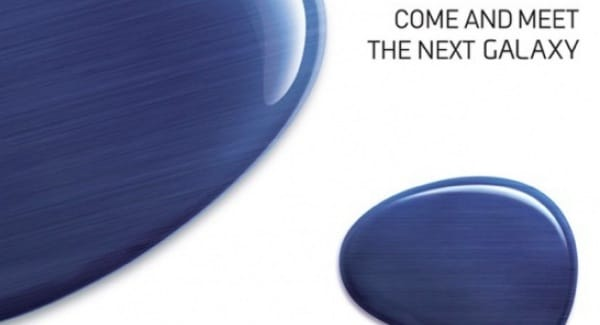 Early Samsung Galaxy S4 unveil post MWC