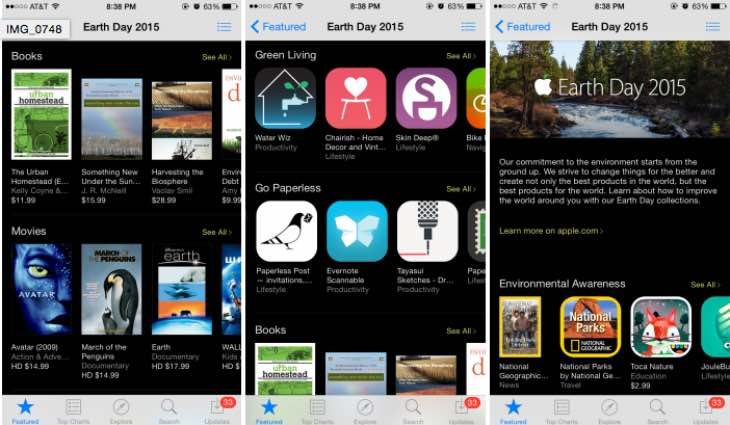 Earth Day 2015 iOS apps to educate