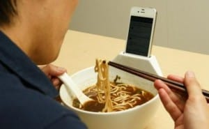 Eat and dock the iPhone 5 with this bowl