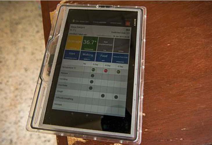 Ebola-proof Google tablet
