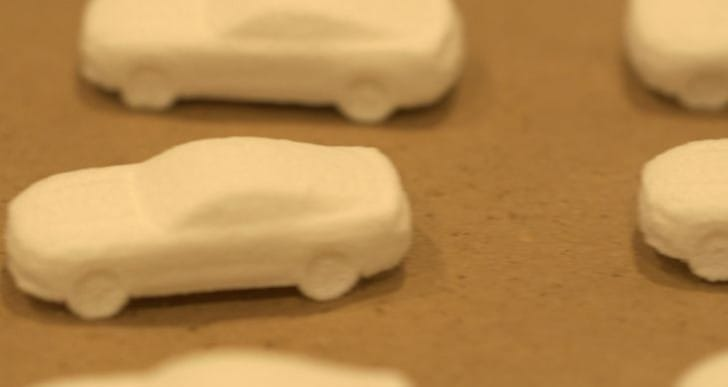 Edible new 3D Ford Mustang