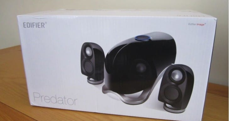 Edifier Predator e1100MK II speakers given hands-on review