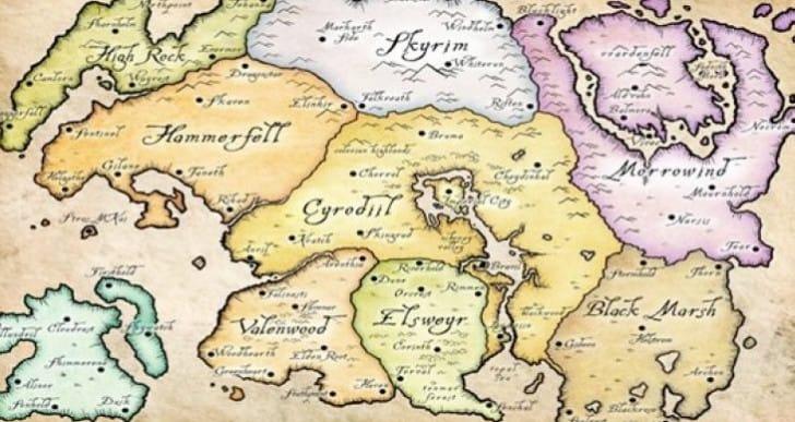 Elder Scrolls 6 ideal location