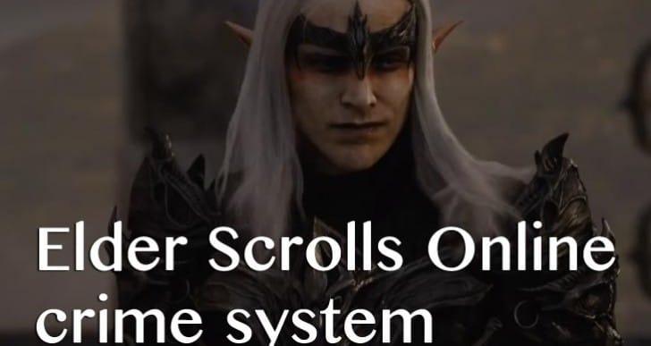 Elder Scrolls Online crime system