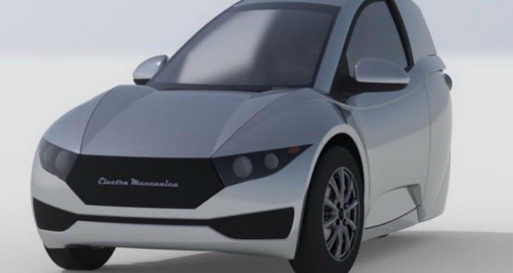 Electra Meccanica Solo Vs Elio Motors specs and range