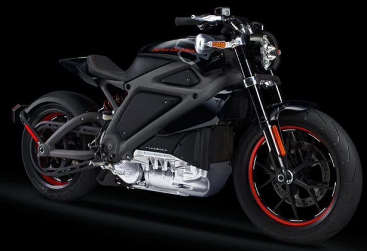 Electric Harley Davidson motorcycle specs a concern