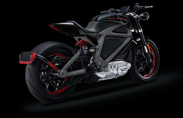 Electric Harley Davidson motorcycle specs
