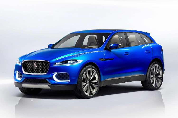 Electric Jaguar F-Pace development