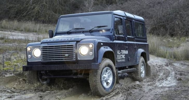 Electric Land Rover Defender test results