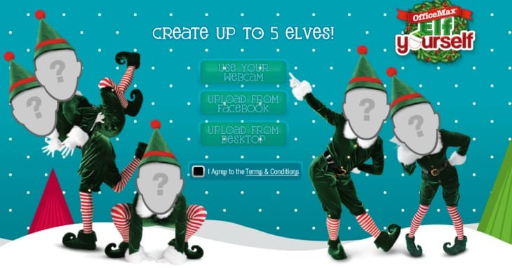 Elf Yourself App