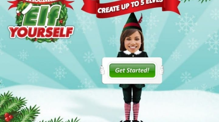 Elf Yourself app provides Christmas dances