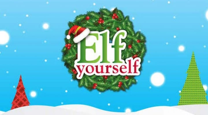 2014 Elf Yourself Kindle app won't let you Elf Yourself