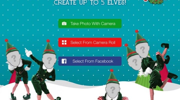 Elf Yourself app battered by users