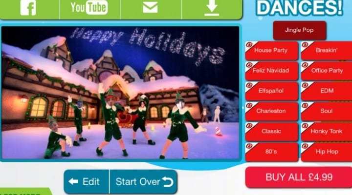 ElfYourself by Office Depot fixes Facebook upload issues