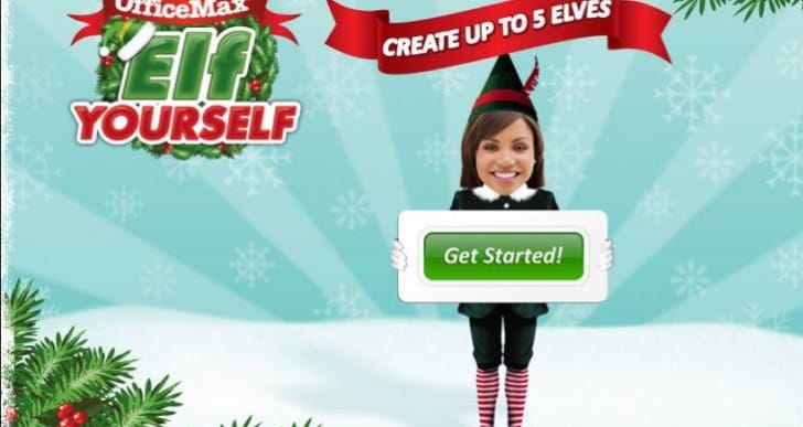 ElfYourself by OfficeMax app update for 2014 incoming