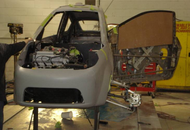 Elio Motors powertrain