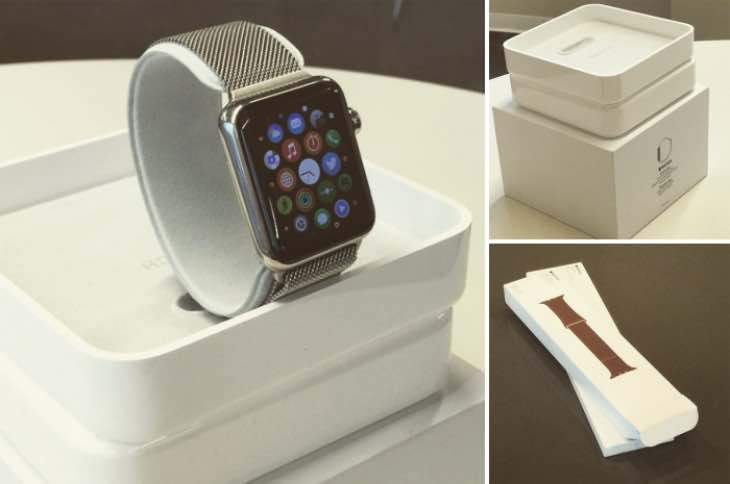 Environmentally low-impact Apple Watch packaging