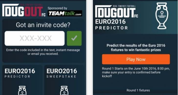 Euro 2016 sweepstake generator, fixtures and results app