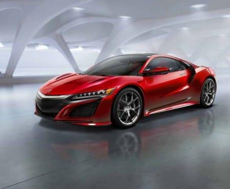 European 2015 Honda NSX specs doesn't reveal top speed