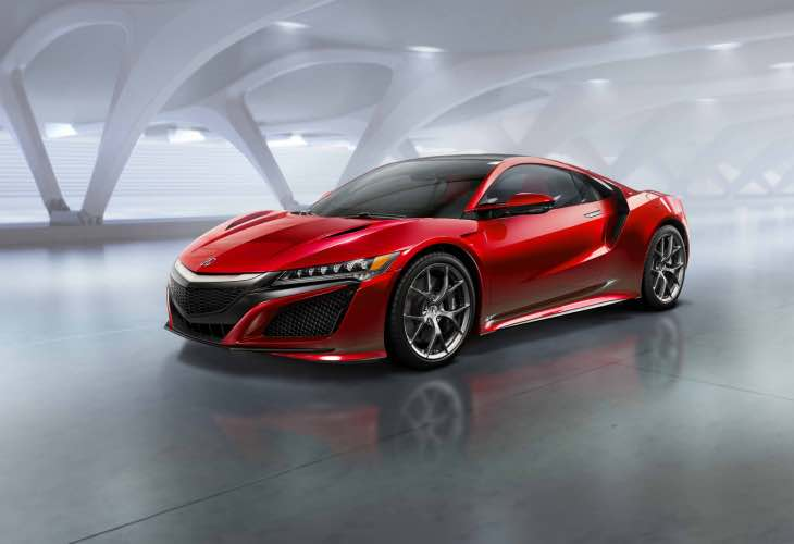 European 2015 Honda NSX specs doesn't reveal top speed