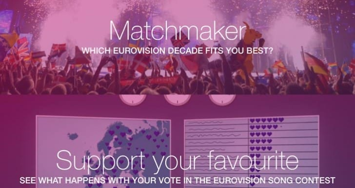 Eurovision voting system put to work in app