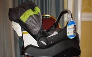 Evenflo car seat recall for Embrace models