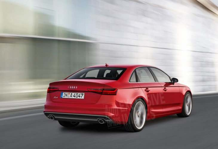 Evolutionary Audi A4 design