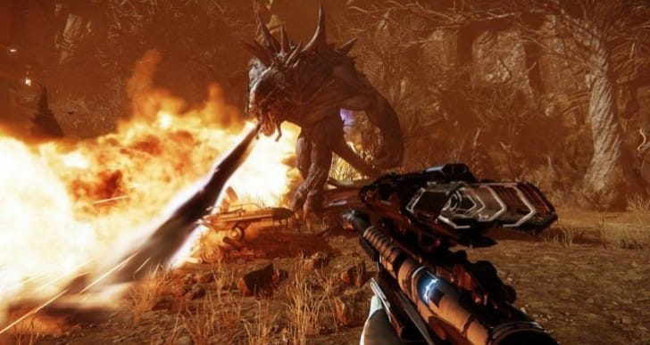 Evolve multiplayer inspired by Predator