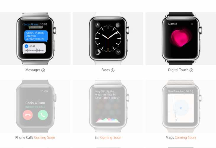 Exploring Apple Watch features
