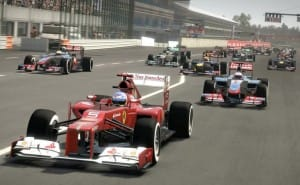 F1 2013 review, minimal upgrade from 2012 game