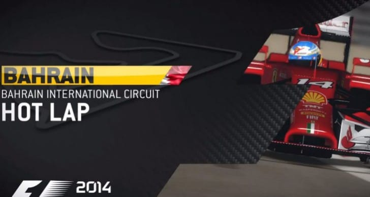 F1 2014 Gameplay emulates sound, graphics questionable