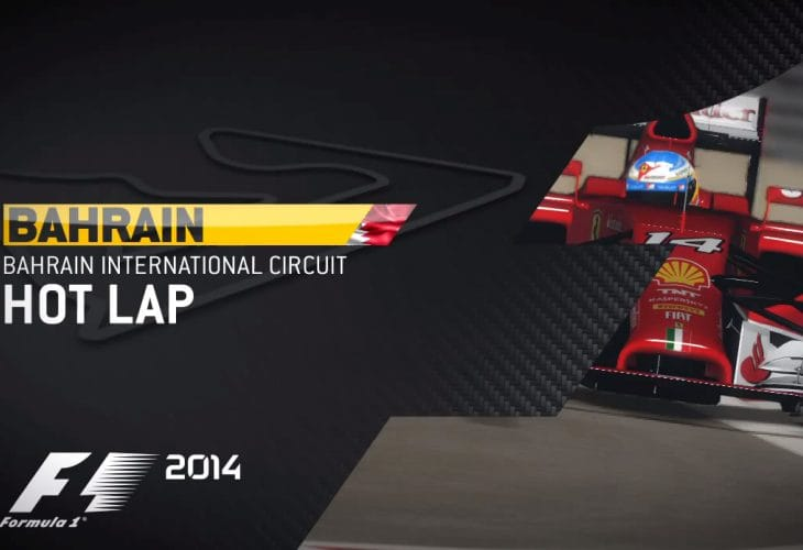 F1 2014 Gameplay emulates sound in Bahrain