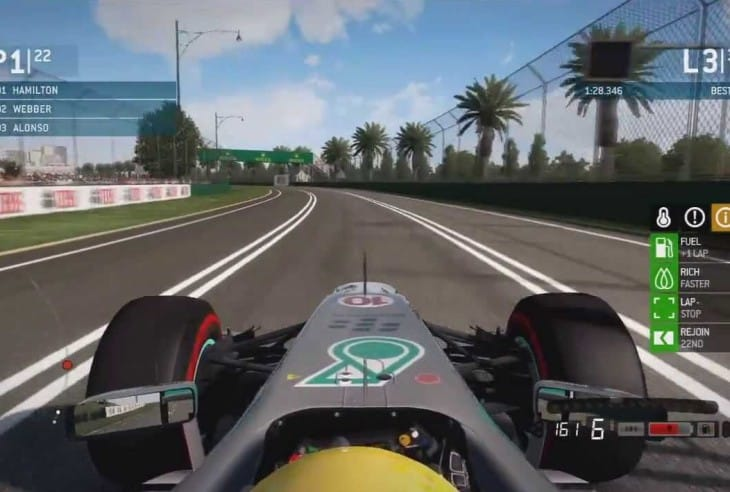 F1 2014 ideas for PS4, XB1 game