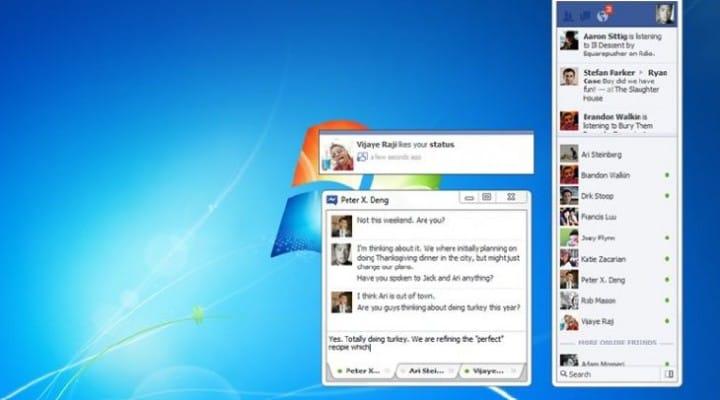 Windows losing Facebook Messenger