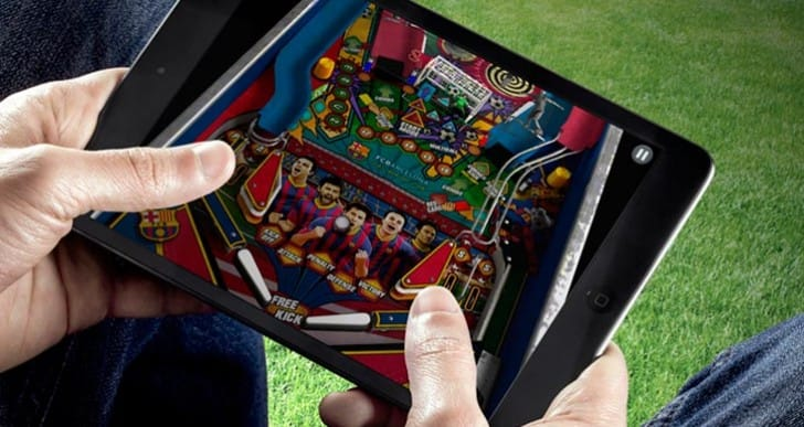 Engage FC Barcelona's players in FCB Pinball