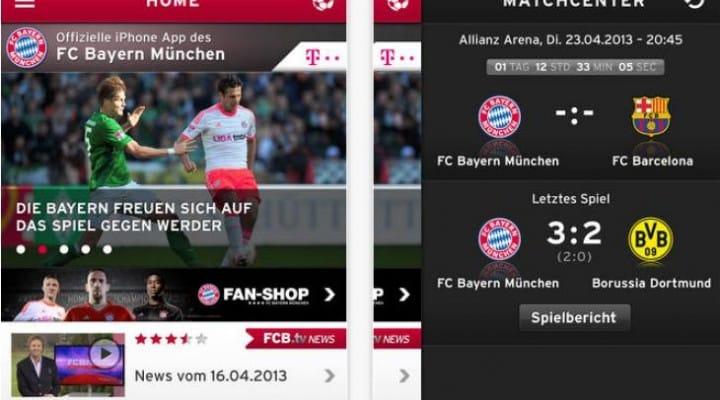 FC Bayern Munchen app gains iOS 8 update