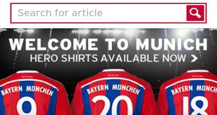 FC Bayern Munich enhances US news app