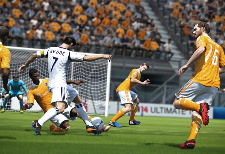 FIFA 14 PS4 and Xbox One improved features visualized