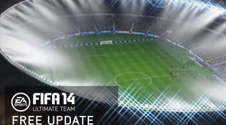 FIFA 14 UT World Cup update on PS4, Xbox One