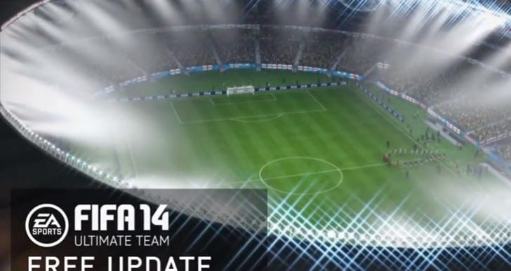 FIFA 14 World Cup mode on PS4, Xbox One
